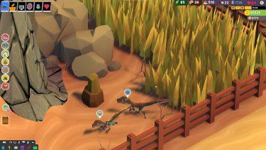 ローポリな恐竜のパークを作ろう!Parkasurusという癒し恐竜ゲームのすすめ
